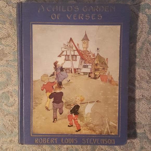 1929 copy: Child's Garden of Verses